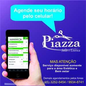 agendamento online piazza