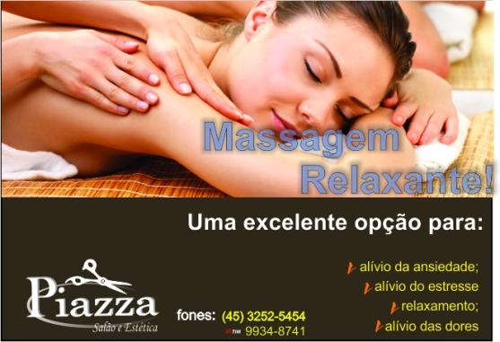 Massagem relaxante Fem