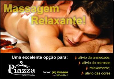 Massagem relaxante masc